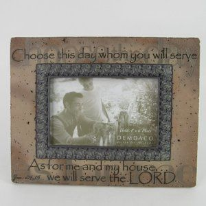 Choose This Day Picture Frame 4x6 Opening